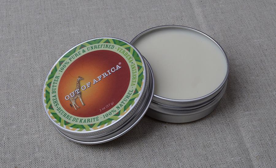 Нерафинированное масло ши с запахом вербены Out of Africa