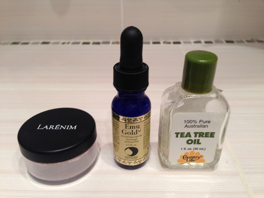 Мои средства для чистой кожи с айхерб: масло эму, масло чайного дерева, ночеая пудра